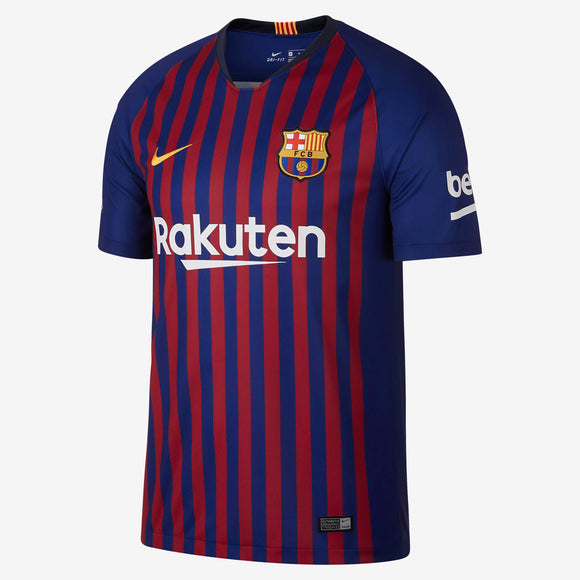 Youth 2018/19 Team Barcelona Football Club Navy Red Home Stadium Jersey - Bleacher Bum Collectibles, Toronto Blue Jays, NHL , MLB, Toronto Maple Leafs, Hat, Cap, Jersey, Hoodie, T Shirt, NFL, NBA, Toronto Raptors