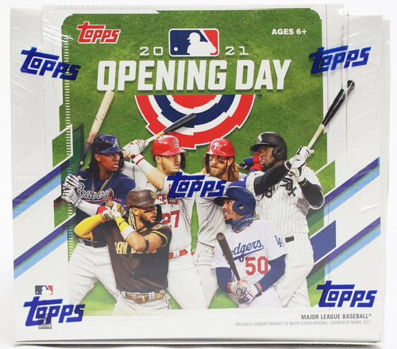 2021 Topps Opening Day Baseball Hobby Box 36 Packs Per Box, 7 Cards Per Pack