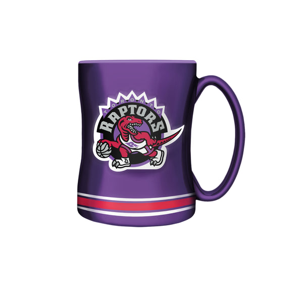 Toronto Raptors Hardwood Classic NBA Basketball 14oz Sculpted C-Handle Mug - Bleacher Bum Collectibles, Toronto Blue Jays, NHL , MLB, Toronto Maple Leafs, Hat, Cap, Jersey, Hoodie, T Shirt, NFL, NBA, Toronto Raptors