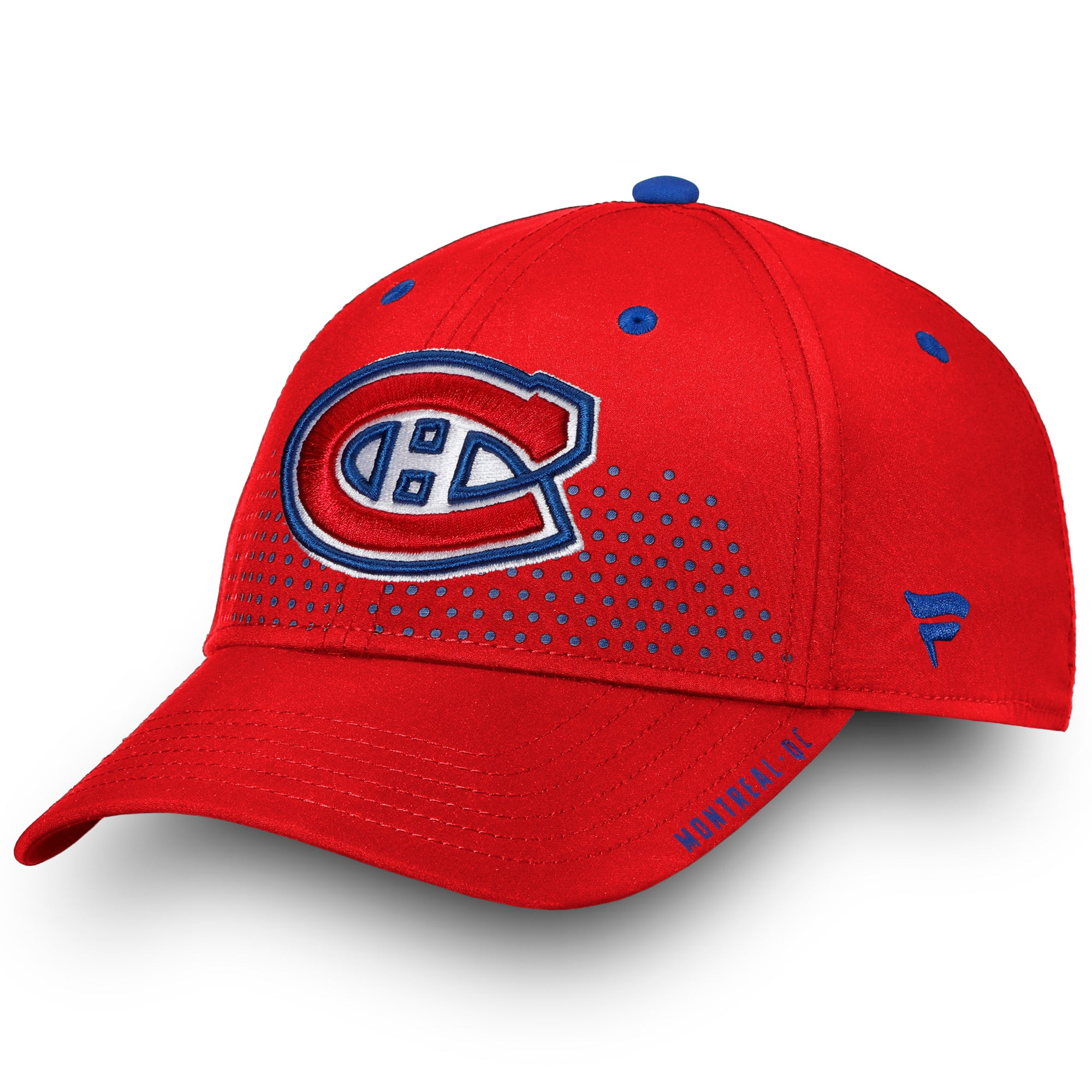 fe24e7473 Men s 2018 Montreal Canadiens Fanatics Official Draft Structured Flex Hat -  Multiple Sizes - Bleacher Bum ...