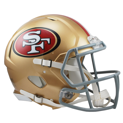 NFL Football Riddell San Francisco 49ers Full Size Revolution Speed Authentic Helmet - Bleacher Bum Collectibles, Toronto Blue Jays, NHL , MLB, Toronto Maple Leafs, Hat, Cap, Jersey, Hoodie, T Shirt, NFL, NBA, Toronto Raptors