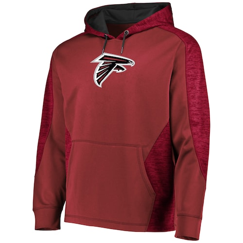 Men's Atlanta Falcons Majestic Red Atlanta Falcons Armor Pullover Hoodie - Bleacher Bum Collectibles, Toronto Blue Jays, NHL , MLB, Toronto Maple Leafs, Hat, Cap, Jersey, Hoodie, T Shirt, NFL, NBA, Toronto Raptors