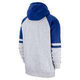 Men's Toronto Blue Jays Full Zip Grey Royal Blue Nike Hoodie Hooded Sweatshirt - Bleacher Bum Collectibles, Toronto Blue Jays, NHL , MLB, Toronto Maple Leafs, Hat, Cap, Jersey, Hoodie, T Shirt, NFL, NBA, Toronto Raptors