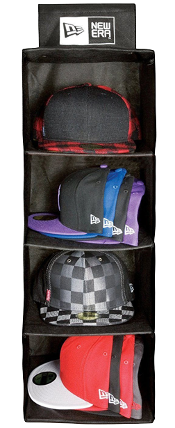 New Era Cap Hat Carrying Carrier Case Handle Fits up to 20 Hats Closet Organizer