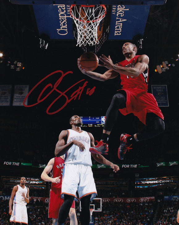 Toronto Raptors Demar DeRozan Signed NBA Basketball 8x10 Autograph COA Picture - Bleacher Bum Collectibles, Toronto Blue Jays, NHL , MLB, Toronto Maple Leafs, Hat, Cap, Jersey, Hoodie, T Shirt, NFL, NBA, Toronto Raptors