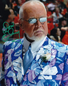 Don Cherry Signed NHL Hockey 8x10 Photo Picture Autograph Floral Jacket Shades - Bleacher Bum Collectibles, Toronto Blue Jays, NHL , MLB, Toronto Maple Leafs, Hat, Cap, Jersey, Hoodie, T Shirt, NFL, NBA, Toronto Raptors