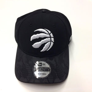 Toronto Raptors New Era Black Camo Shade 9twenty Adjustable Cap Hat Low Crown - Bleacher Bum Collectibles, Toronto Blue Jays, NHL , MLB, Toronto Maple Leafs, Hat, Cap, Jersey, Hoodie, T Shirt, NFL, NBA, Toronto Raptors