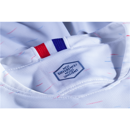 new concept 4db80 65ada 2018 FIFA World Cup of Soccer Team France Away Replica White Jersey