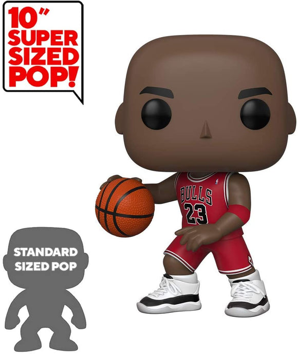 Funko Pop! NBA Bulls Michael Jordan 10-Inch Super Sized Vinyl Figure