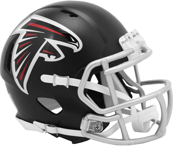 NFL Football Riddell Atlanta Falcons Mini Revolution Speed Replica Helmet