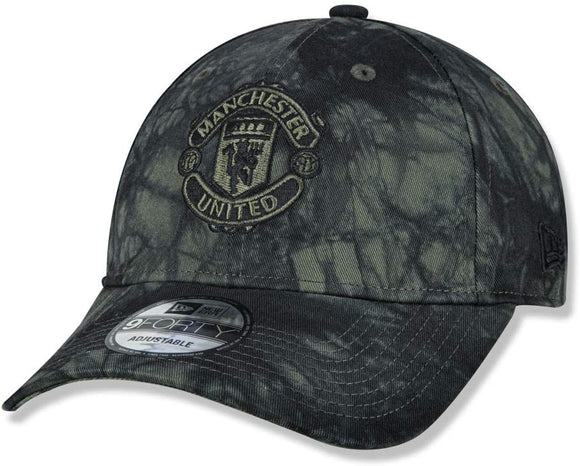 Manchester United F.C. Soccer Club New Era 9Forty Forest Dye Adjustable Buckle Hat