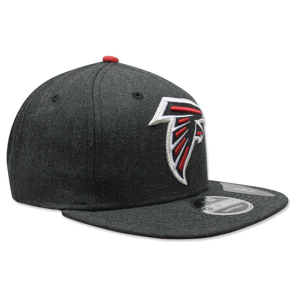 2926028be ... Atlanta Falcons NFL New Era 9Fifty Heather Hype Snapback Hat Cap Grey - Bleacher  Bum Collectibles ...