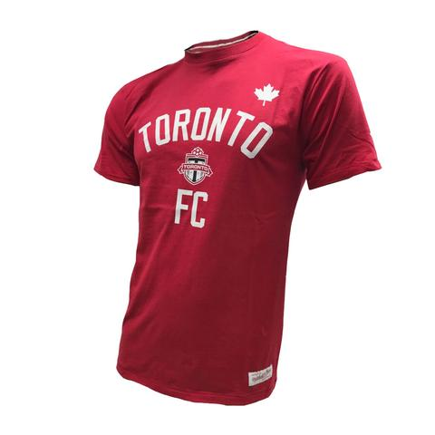 Toronto FC Men's MLS Soccer Team History Tailored Short Sleeves  T Shirt