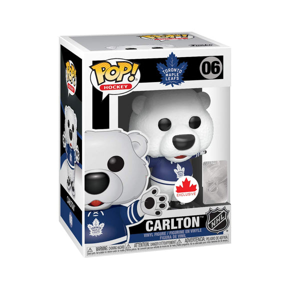 FunKo FU43069 Pop! Hockey Toronto Maple Leafs Carlton The Bear Canada Exclusive - Bleacher Bum Collectibles, Toronto Blue Jays, NHL , MLB, Toronto Maple Leafs, Hat, Cap, Jersey, Hoodie, T Shirt, NFL, NBA, Toronto Raptors
