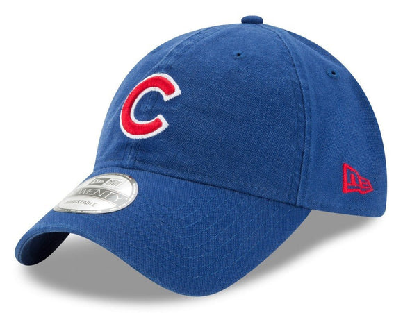 Chicago Cubs New Era MLB 9Twenty Primary Core Classic Adjustable Hat - Bleacher Bum Collectibles, Toronto Blue Jays, NHL , MLB, Toronto Maple Leafs, Hat, Cap, Jersey, Hoodie, T Shirt, NFL, NBA, Toronto Raptors