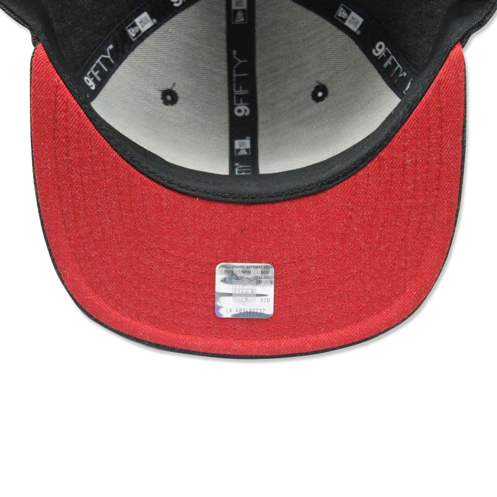 8b6258ad8 ... Atlanta Falcons NFL New Era 9Fifty Heather Hype Snapback Hat Cap Grey - Bleacher  Bum Collectibles