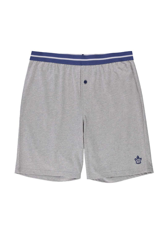 NHL Men's Sleep Shorts Toronto Maple Leafs Pyjama Lounge Knit Shorts - Bleacher Bum Collectibles, Toronto Blue Jays, NHL , MLB, Toronto Maple Leafs, Hat, Cap, Jersey, Hoodie, T Shirt, NFL, NBA, Toronto Raptors