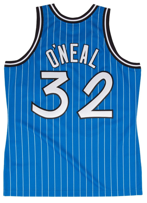 Men s Orlando Magic Shaquille O Neal Mitchell   Ness Royal 2004-05 Hardwood  Classics 09ffa336d