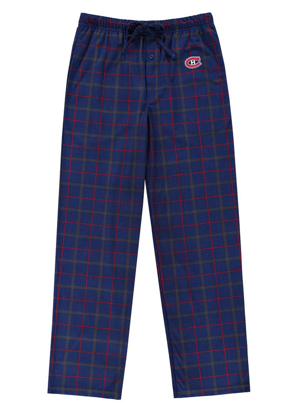 NHL Men's Montreal Canadiens NHL Hockey Sleep Microsuede Knit Pajama Bottoms - Bleacher Bum Collectibles, Toronto Blue Jays, NHL , MLB, Toronto Maple Leafs, Hat, Cap, Jersey, Hoodie, T Shirt, NFL, NBA, Toronto Raptors