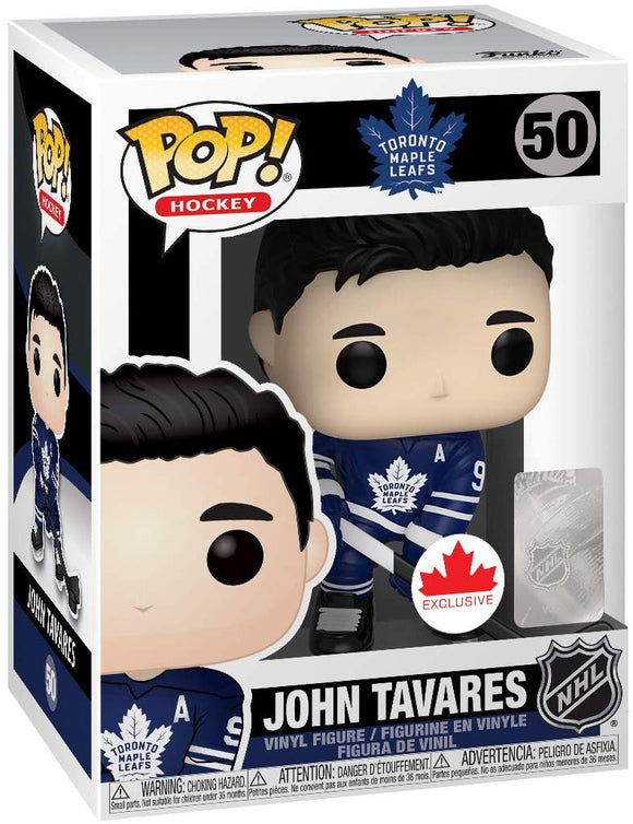 FunKo Pop! Hockey Toronto Maple Leafs John Tavares Canada Exclusive - Bleacher Bum Collectibles, Toronto Blue Jays, NHL , MLB, Toronto Maple Leafs, Hat, Cap, Jersey, Hoodie, T Shirt, NFL, NBA, Toronto Raptors