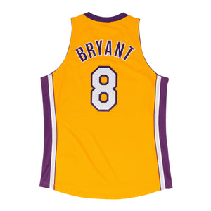 Men's Los Angeles Lakers Kobe Bryant Mitchell & Ness Yellow 1999-00 Hardwood Classics Authentic Jersey - Bleacher Bum Collectibles, Toronto Blue Jays, NHL , MLB, Toronto Maple Leafs, Hat, Cap, Jersey, Hoodie, T Shirt, NFL, NBA, Toronto Raptors