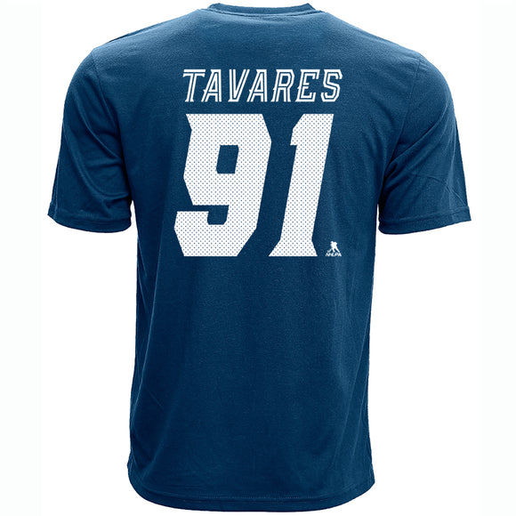 Men's Toronto Maple Leafs Levelwear John Tavares Name & Number T-Shirt - Bleacher Bum Collectibles, Toronto Blue Jays, NHL , MLB, Toronto Maple Leafs, Hat, Cap, Jersey, Hoodie, T Shirt, NFL, NBA, Toronto Raptors