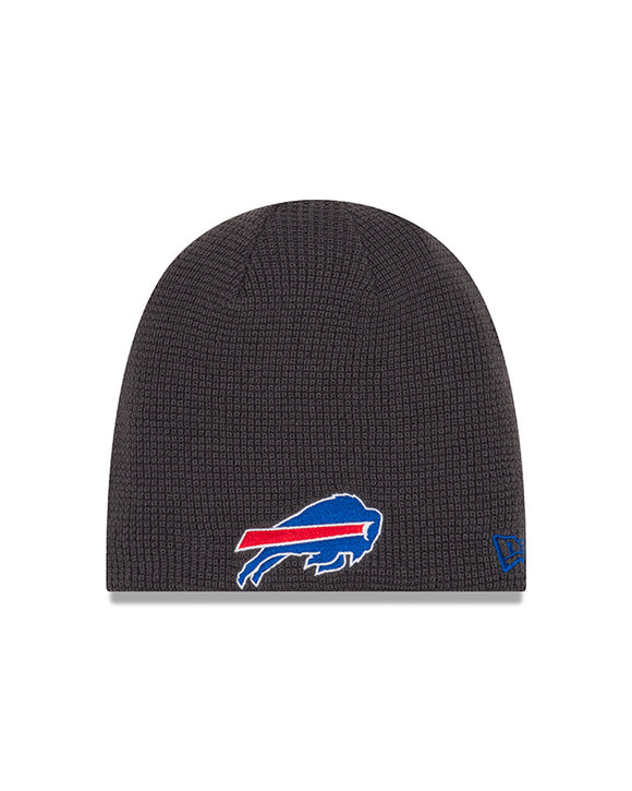 Unisex Buffalo Bills Basic Team Logo Reversible Toque Beanie - One Size - Bleacher Bum Collectibles, Toronto Blue Jays, NHL , MLB, Toronto Maple Leafs, Hat, Cap, Jersey, Hoodie, T Shirt, NFL, NBA, Toronto Raptors