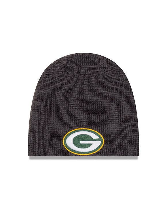 Unisex Green Bay Packers Basic Team Logo Reversible Toque Beanie - One Size