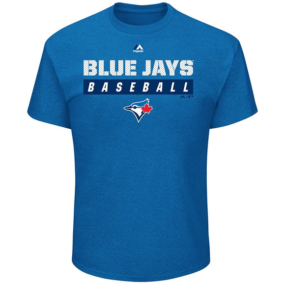 Toronto Blue Jays Proven Pastime T Shirt By Majestic Athletics - Bleacher Bum Collectibles, Toronto Blue Jays, NHL , MLB, Toronto Maple Leafs, Hat, Cap, Jersey, Hoodie, T Shirt, NFL, NBA, Toronto Raptors
