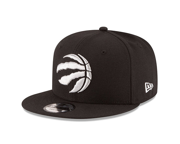 Toronto Raptors NBA Basketball Claw Ball Logo Black Silver Snapback Hat Cap New Era OSFM - Bleacher Bum Collectibles, Toronto Blue Jays, NHL , MLB, Toronto Maple Leafs, Hat, Cap, Jersey, Hoodie, T Shirt, NFL, NBA, Toronto Raptors