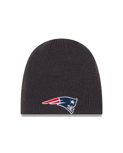 Unisex New England Patriots Basic Team Logo Reversible Toque Beanie - One Size