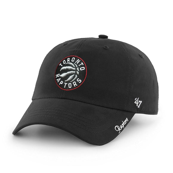 Toronto Raptors Ladies Women's '47 Miata Clean Up Adjustable Hat - Bleacher Bum Collectibles, Toronto Blue Jays, NHL , MLB, Toronto Maple Leafs, Hat, Cap, Jersey, Hoodie, T Shirt, NFL, NBA, Toronto Raptors