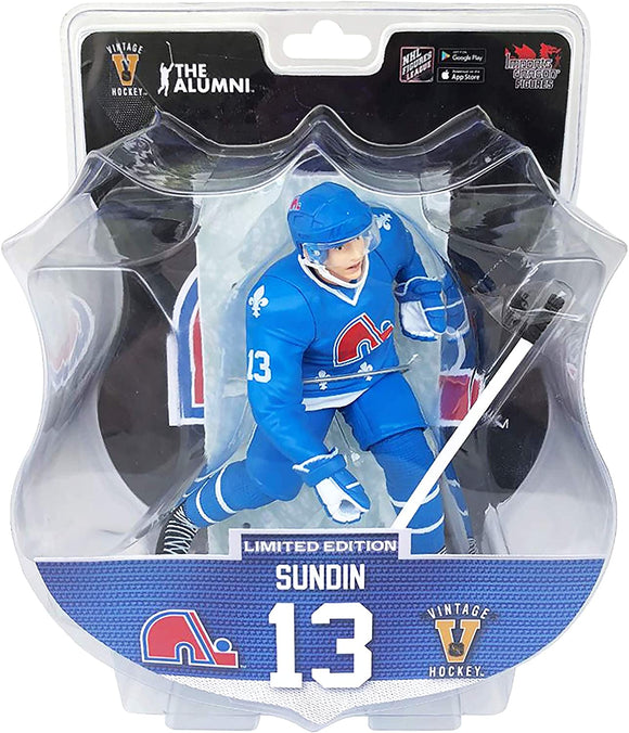 Mats Sundin Quebec Nordiques 2020-21 Unsigned Imports Dragon 6