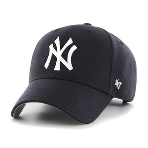 New York Yankees Adjustable Strap MVP Adjustable One Size Hat Cap 47 Brand - Bleacher Bum Collectibles, Toronto Blue Jays, NHL , MLB, Toronto Maple Leafs, Hat, Cap, Jersey, Hoodie, T Shirt, NFL, NBA, Toronto Raptors