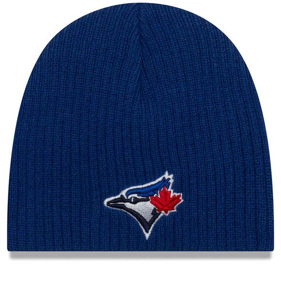 Infant Toronto Blue Jays New Era Royal MLB Baseball Knit Toque Beanie - Bleacher Bum Collectibles, Toronto Blue Jays, NHL , MLB, Toronto Maple Leafs, Hat, Cap, Jersey, Hoodie, T Shirt, NFL, NBA, Toronto Raptors