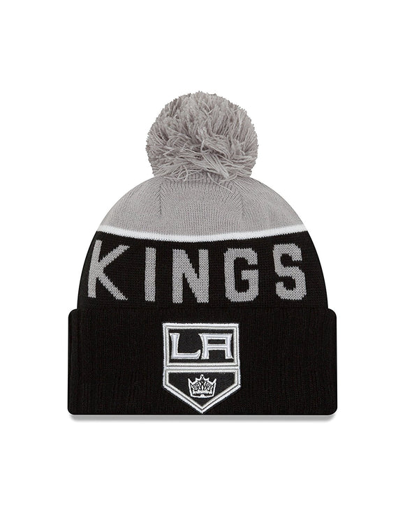 Los Angeles Kings NE 15 Sport Knit Beanie Toque NHL Hockey by New Era - Bleacher Bum Collectibles, Toronto Blue Jays, NHL , MLB, Toronto Maple Leafs, Hat, Cap, Jersey, Hoodie, T Shirt, NFL, NBA, Toronto Raptors