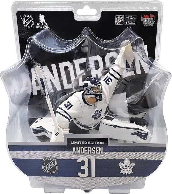 Frederik Andersen Toronto Maple Leafs 2020-21 Unsigned Imports Dragon 6