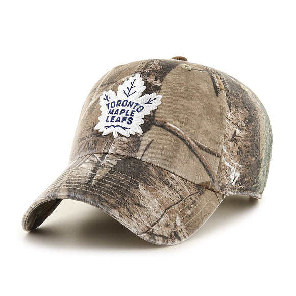 Men's Toronto Maple Leafs Realtree Camouflage Frost '47 MVP Adjustable Hat Cap - Bleacher Bum Collectibles, Toronto Blue Jays, NHL , MLB, Toronto Maple Leafs, Hat, Cap, Jersey, Hoodie, T Shirt, NFL, NBA, Toronto Raptors