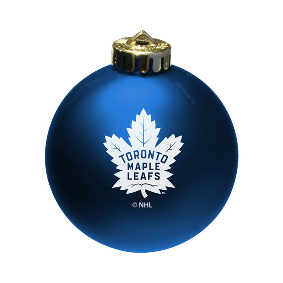 Toronto Maple Leafs Shatter Proof Single Ball Christmas Ornament NHL Hockey - Bleacher Bum Collectibles, Toronto Blue Jays, NHL , MLB, Toronto Maple Leafs, Hat, Cap, Jersey, Hoodie, T Shirt, NFL, NBA, Toronto Raptors