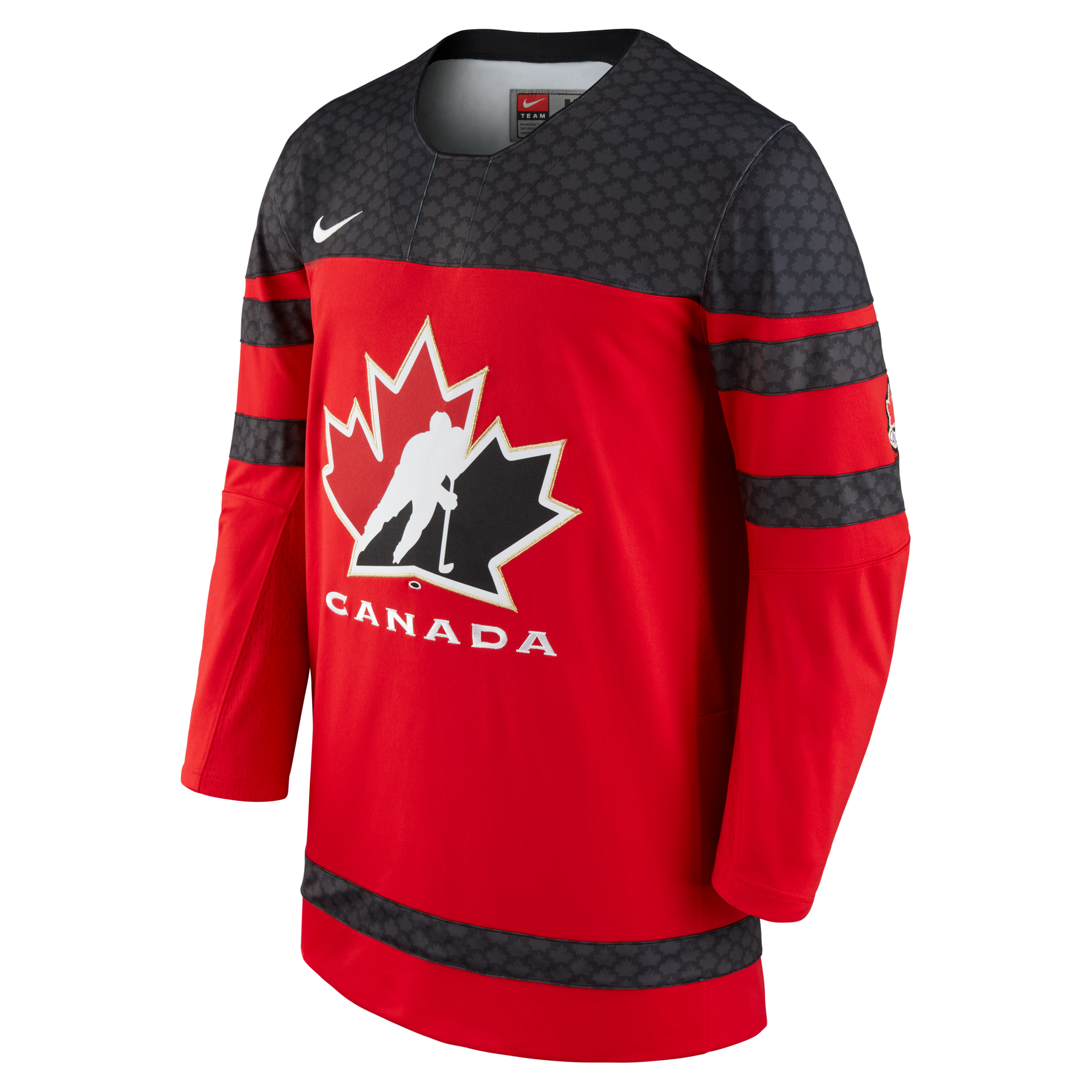 2018 Team Canada Nike Hockey Iihf World Junior Championship Red