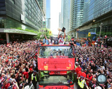 Toronto Raptors 2019 NBA Champions Toronto City Parade Unsigned Photo Picture 16x20 - Multiple Poses