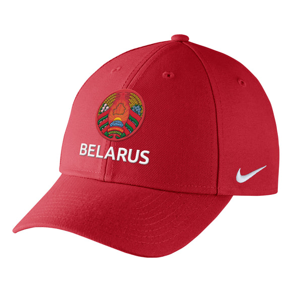 2018 Team Belarus Hockey Nike IIHF Primary Logo Wool Classic Adjustable Cap Hat - Bleacher Bum Collectibles, Toronto Blue Jays, NHL , MLB, Toronto Maple Leafs, Hat, Cap, Jersey, Hoodie, T Shirt, NFL, NBA, Toronto Raptors