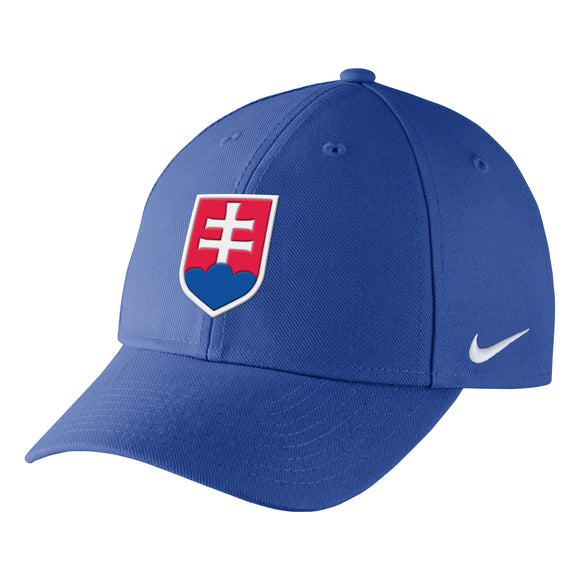 2018 Team Slovakia Hockey Nike IIHF Primary Logo Wool Classic Adjustable Cap Hat - Bleacher Bum Collectibles, Toronto Blue Jays, NHL , MLB, Toronto Maple Leafs, Hat, Cap, Jersey, Hoodie, T Shirt, NFL, NBA, Toronto Raptors