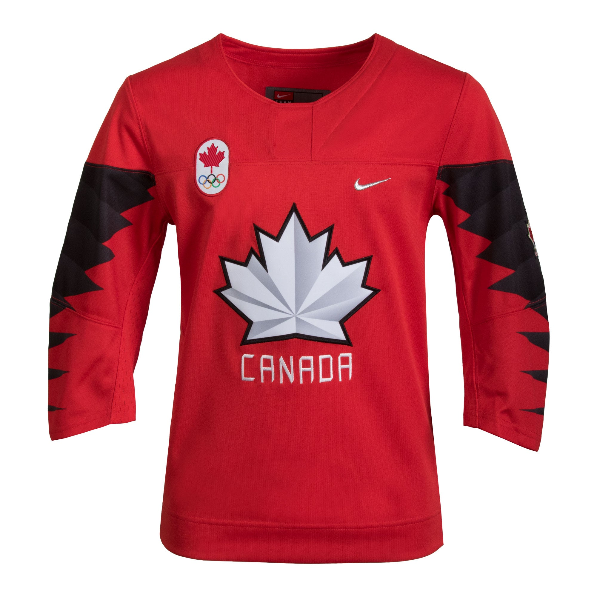 2018 Team Canada Nike Hockey Olympic Red Replica Child Jersey - Multiple  Sizes - Bleacher Bum ...
