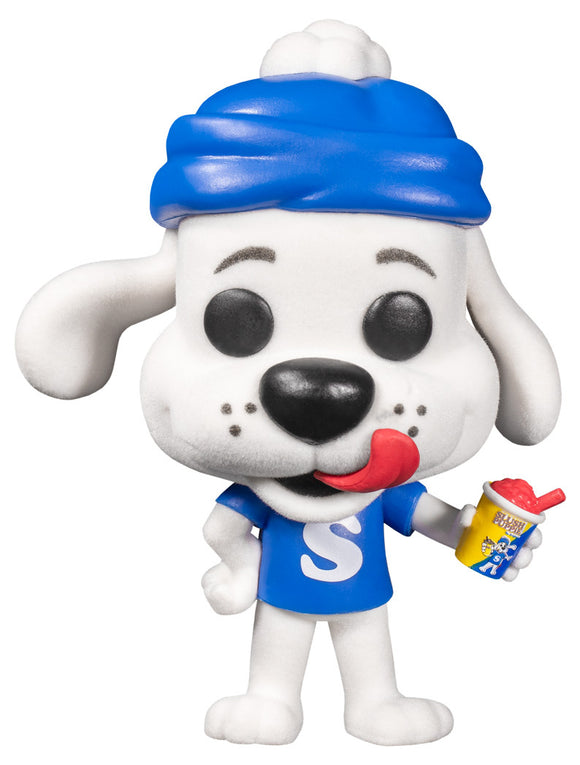 FunKo Pop! ICEE Slush Puppie Slushie #106 Flocked Special Edition Toy Figure Brand New Dog Ad Icons