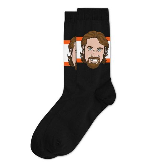 Peter Forsberg Philadelphia Flyers Sockey Hall Of Fame Original Socks One Size