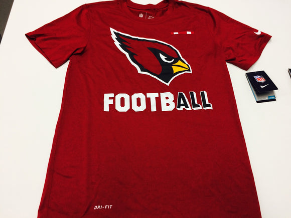 ecc7ad62f Men s Arizona Cardinals Nike Crimson Red Sideline Legend Football  Performance T-Shirt - Bleacher Bum