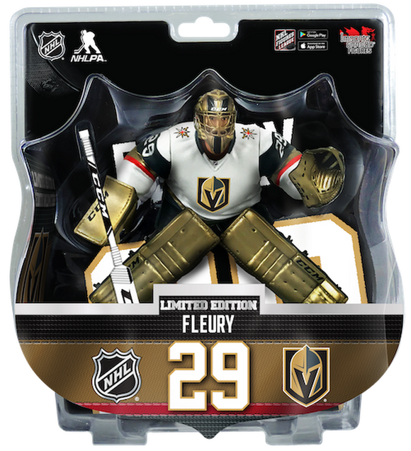 Marc-Andre Fleury Vegas Golden Knights 2019-20 Unsigned Imports Dragon 6