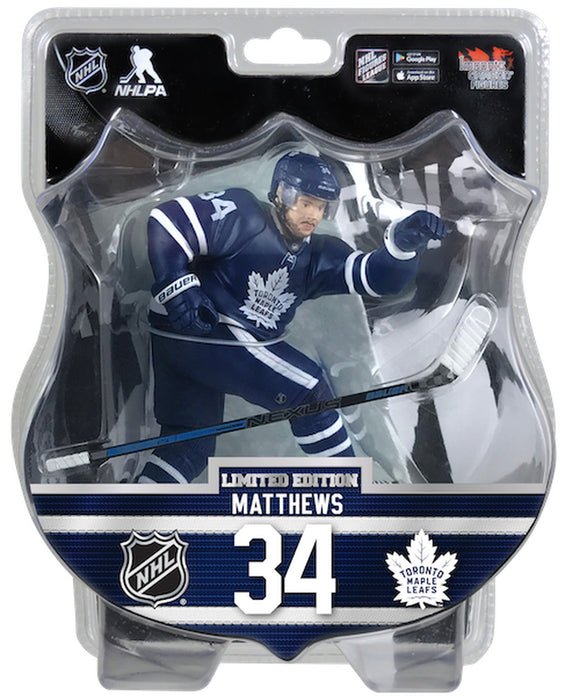 Auston Matthews Toronto Maple Leafs 2019-20 Unsigned Imports Dragon 6