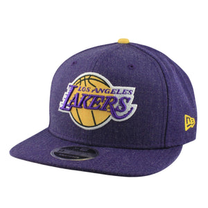 Los Angeles Lakers NBA New Era 9Fifty Heather Hype Snapback Hat Cap Purple - Bleacher Bum Collectibles, Toronto Blue Jays, NHL , MLB, Toronto Maple Leafs, Hat, Cap, Jersey, Hoodie, T Shirt, NFL, NBA, Toronto Raptors